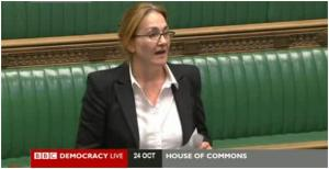 Natascha in Parliament